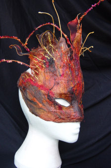 Silk Paper Mask entered into WOW New Zealand